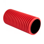 Труба двустенная ПНД