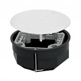 Коробка распаячная КМП-020-023 для полых стен с металлическими лапками, клеммником и крышкой (108х50) EKF PROxima