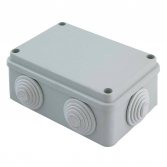 Коробка распаячная КМР-050-048 пылевлагозащитная, 6 мембранных вводов, уплотнительный шнур (128х84х59) EKF PROxima
