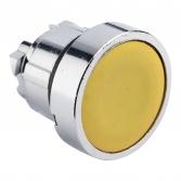 Исполнительный механизм кнопки XB4 желтый плоский  возвратный без фиксации, без подсветки EKF PROxima