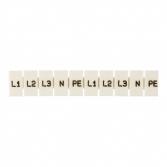 """Маркеры для JXB-ST 1,5 с символами """"L1, L2, L3, N, PE"""" (10 шт.) EKF PROxima"""