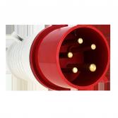 Вилка переносная 015 3Р+РЕ+N 16А 380В IP44 EKF PROxima