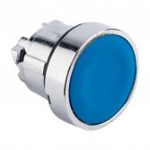 Исполнительный механизм кнопки XB4 синий плоский  возвратный без фиксации, без подсветки EKF PROxima