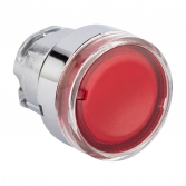 Исполнительный механизм кнопки XB4 красный плоский  возвратный без фиксации, с подсветкой EKF PROxima