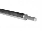 Вертикальный стержень глубинного заземления, 1,5 м, нерж., 16 мм EKF