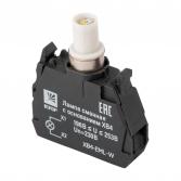 Лампа сменная c основанием XB4 белая  230В EKF PROxima