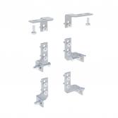 Комплект крепёжных уголков для монтажной платы (6 шт)  EKF AVERES