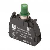 Лампа сменная c основанием XB4 зеленая 400В EKF PROxima