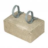 Держатель прутка 8 мм с бетоном для проской кровли EKF