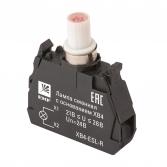 Лампа сменная c основанием XB4 красная 24В EKF PROxima