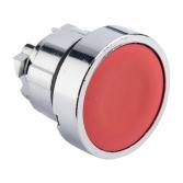 Исполнительный механизм кнопки XB4 красный плоский  возвратный без фиксации, без подсветки EKF PROxima
