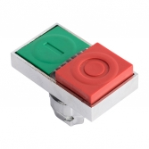 """Исполнительный механизм кнопки XB4 """"пуск-стоп"""" с выпирающим стопом  возвратный без фиксации, с подсветкой EKF PROxima"""