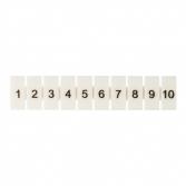 Маркеры для JXB-ST 6 с нумерацией 1-10 (10 шт.) EKF PROxima