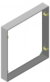 Кожух для навесной установки ЩЭ (серия mb02) EKF Basic