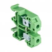 Колодка клеммная JXB-10/35 зеленая EKF PROxima