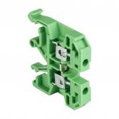 Колодка клеммная  JXB-2.5/35 зеленая EKF PROxima