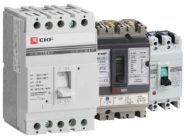 Статья Автоматические выключатели в литом корпусе от компании EKF