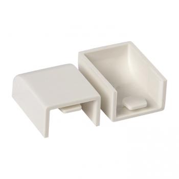 Заглушка (25х16) (4 шт) Plast EKF PROxima Белый