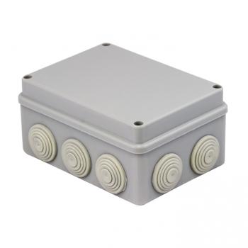 Коробка распаячная КМР-050-041   пылевлагозащитная, 10 мембранных вводов, уплотнительный шнур (156х113х77) EKF PROxima