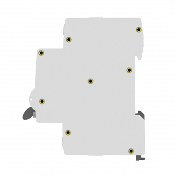 Дифференциальный автомат АВДТ-63М 25А/100мА (1мод., хар.С, электронный тип AС) 6кА EKF PROxima
