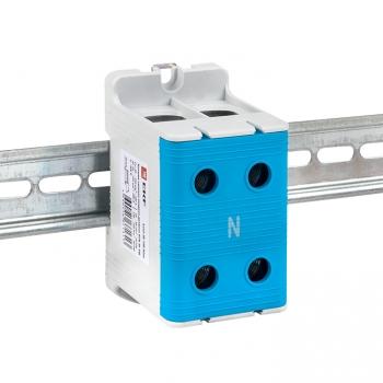 Клемма силовая вводная двойная КСВ 35-150 синяя EKF PROxima