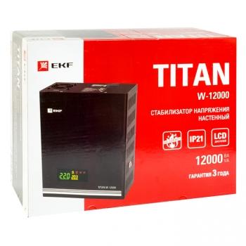 Стабилизатор напряжения настенный TITAN W-12000 EKF PROxima