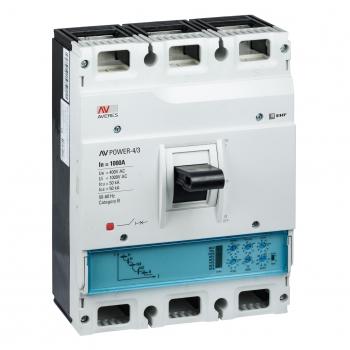Автоматический выключатель AV POWER-4/3 1000А 50kA ETU2.0