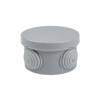 Коробка распаячная КМР-040-038 с крышкой наружная (65х40) 4 мембранных ввода IP54 розничный стикер EKF PROxima