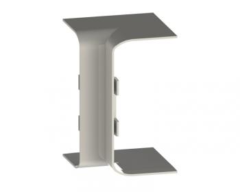 Угол внутренний (105х50) (2 шт) EKF C-Line Белый
