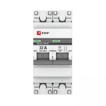 Выключатель нагрузки 2P 32А ВН-63 EKF PROxima