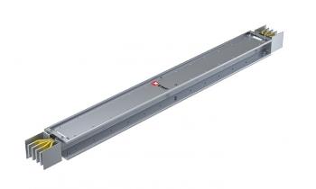 Прямая магистральная нестандартная секция 1600 А IP55 AL 3L+N+PE(ШИНА) длина 1,0м-1,99м