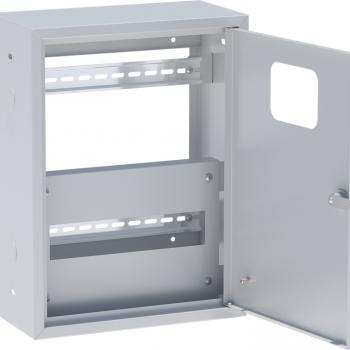 ЯУР с двумя DIN-рейками (400х300х150) EKF Basic без задней стенки