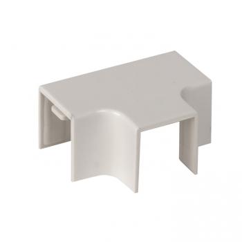 Угол T-образный (16х16) (4 шт) Plast EKF PROxima Белый