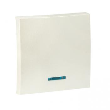 Валенсия лицевая панель выключателя 1-кл. с индикатором 10А жемчуг EKF PROxima