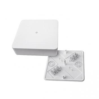 Коробка разветвительная КМР-030-032кг наружная (104х104х28) белая с клеммником EKF PROxima