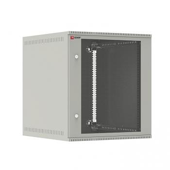 Шкаф телекоммуникационный настенный 12U (600х650) дверь стекло, Astra E серия EKF PROxima