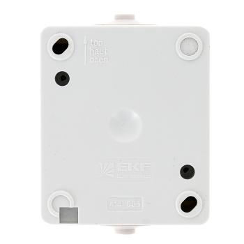 Венеция Выключатель кнопочный 10А IP54 белый EKF