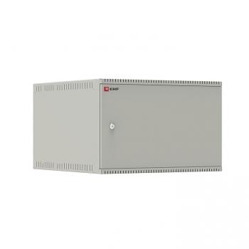 Шкаф телекоммуникационный настенный 6U (600х650) дверь металл, Astra E серия EKF PROxima