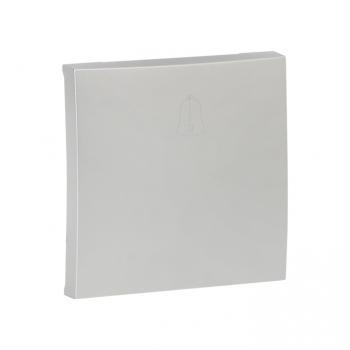 Валенсия лицевая панель выключателя проходного 1-кл. 10А сталь EKF PROxima