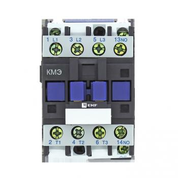 Контактор КМЭ малогабаритный  9А 230В 1NO EKF Basic
