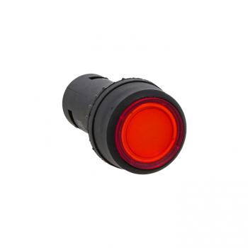 Кнопка SW2C-10D с подсветкой красная NO EKF PROxima