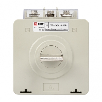 Трансформатор тока ТТЕ-A-750/5А с клеммой напряжения класс точности 0,5S EKF PROxima