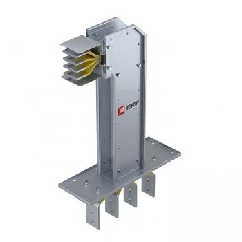 Фланцевая секция с горизонтальным углом для подключения к щиту  400 А IP55 AL 3L+N+PE(КОРПУС)