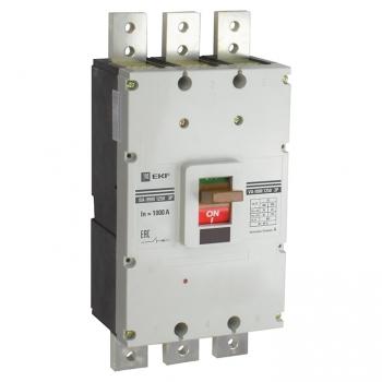 Выключатель автоматический ВА-99М 1250/1000А3P35кАEKF PROxima