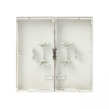 Валенсия лицевая панель выключателя 2-кл. 10А кашемир EKF PROxima