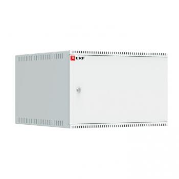 Шкаф телекоммуникационный настенный 6U (600х650) дверь металл, Astra A серия EKF Basic