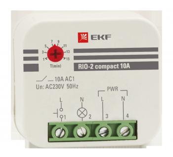 Импульсное реле RIO-2 compact 10А EKF PROxima