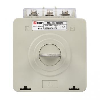 Трансформатор тока ТТЕ-A-150/5А с клеммой напряжения класс точности 0,5S EKF PROxima