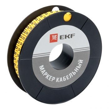 "Маркер кабельный 6,0 мм2 ""B"" (350 шт.) (ЕС-3) EKF PROxima"