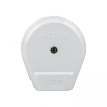Вилка для разъема РШ-ВШ 32А 250В 2P+PE пластиковая бел. EKF